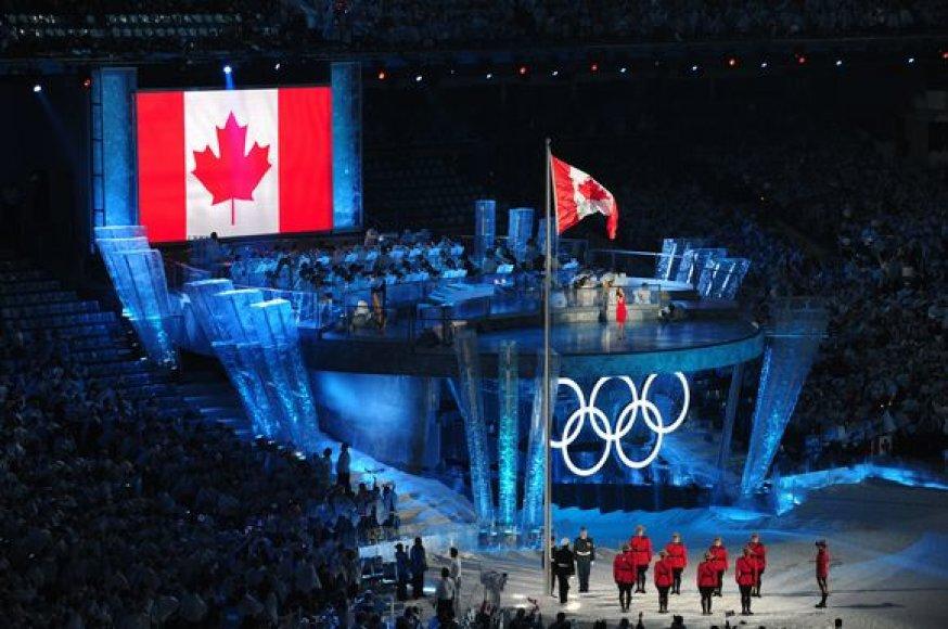 Kanados mieste Vankuveryje XXI olimpinės žiemos žaidynės atidarytos – olimpinė ugnis uždegta 7 val. ryto Lietuvos laiku.