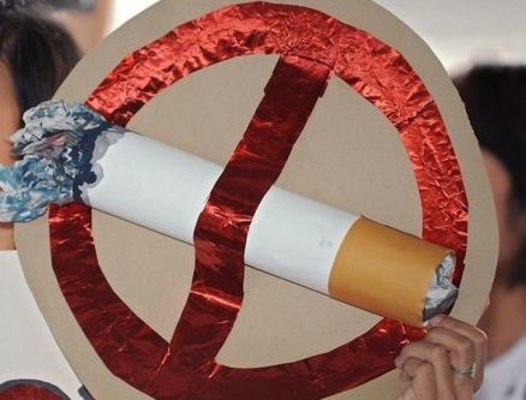 Cigaretėms – ne!