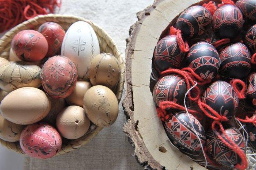Vašku dekoruoti margučiai