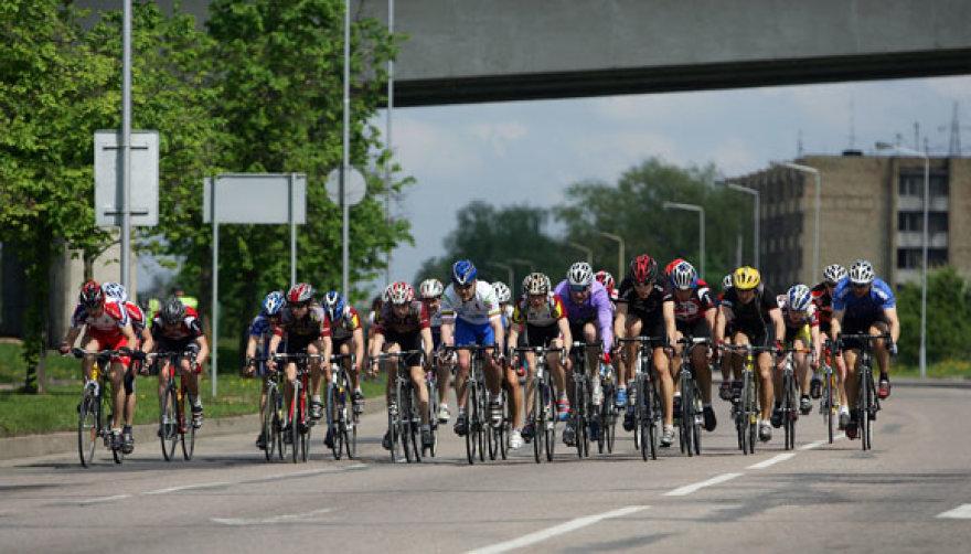 Akimirka iš dviračių maratono