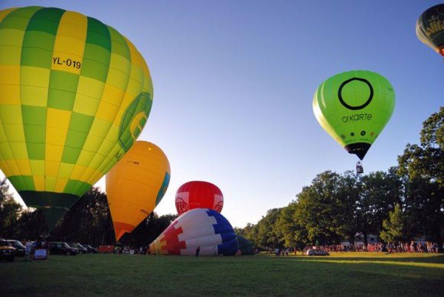 Karšto oro balionai