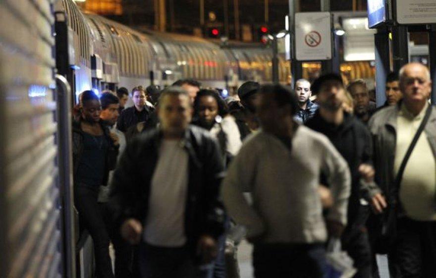 Sausakimša metro stotis Paryžiuje