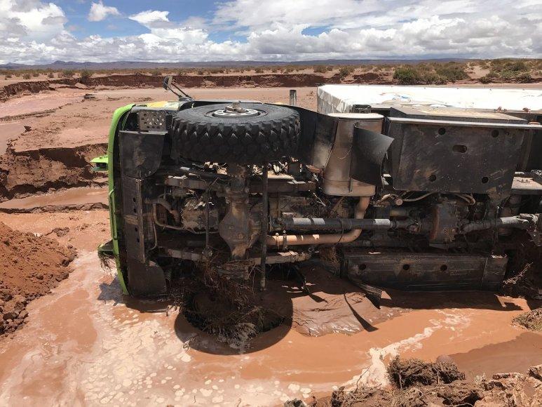 Gedmanto Kropio nuotr. /Audros Bolivijoje padariniai