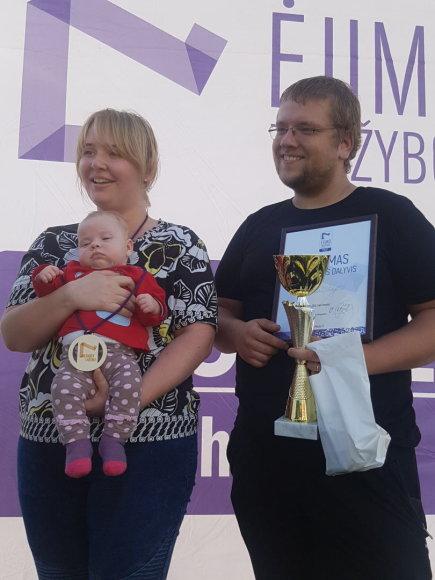 Roko Lukoševičiaus nuotr. /Ėjimo varžybos