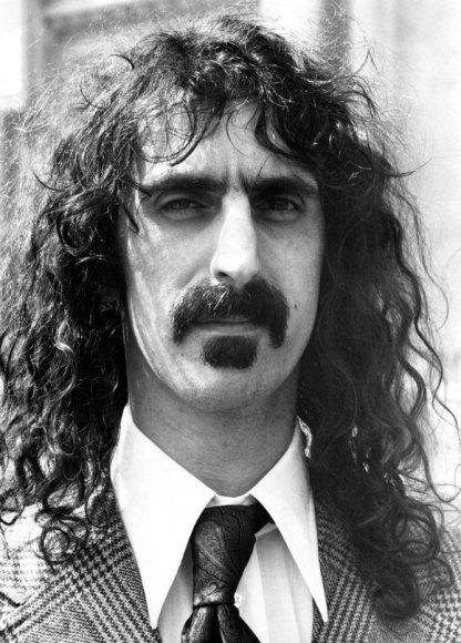 Legendinis JAV roko atlikėjas Frankas Zappa.