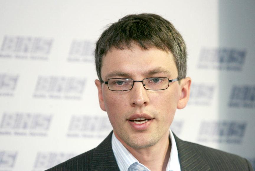 Nacionalinio pareigūnų profesinių sąjungų susivienijimo pirmininkas Vytautas Bakas