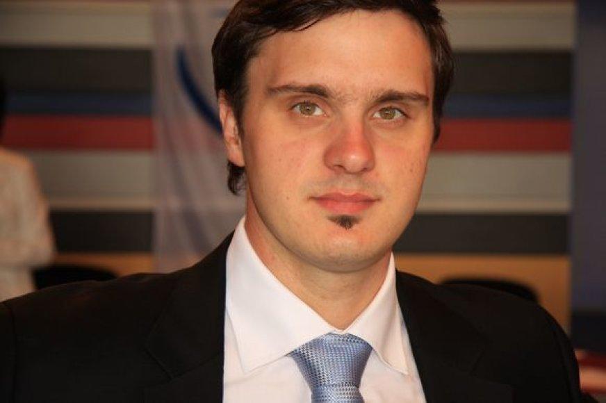 Naujuoju organizacijos lyderiu tapo 21 m. Andrius Vyšniauskas.