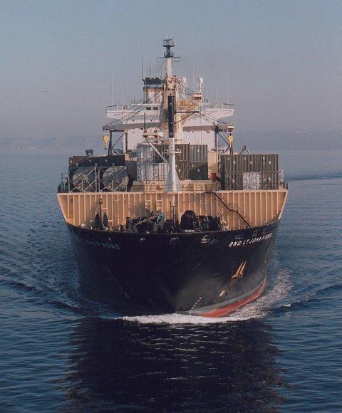 Lietuvos teritoriniuose vandenyse – JAV karinis laivas