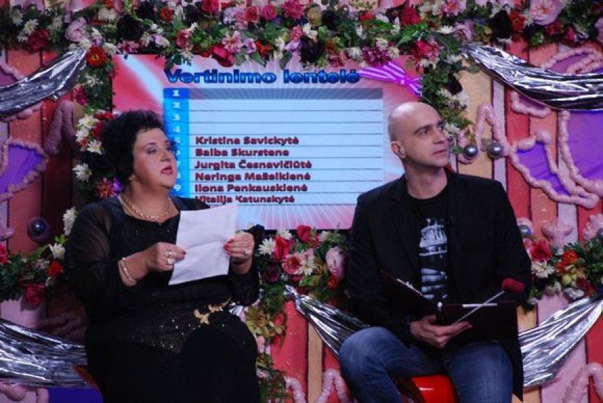 V.Katunskytė ir A.Ramanauskas