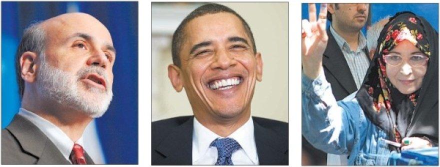 Didžiausi mūsų laikų mąstytojai B.Bernanke, B.Obama ir Z.Rahnavard.