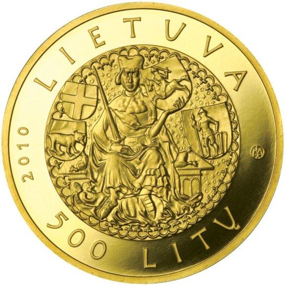 Trijose Lietuvos banko naujose kolekcinėse monetose – Žalgirio mūšio scenos.
