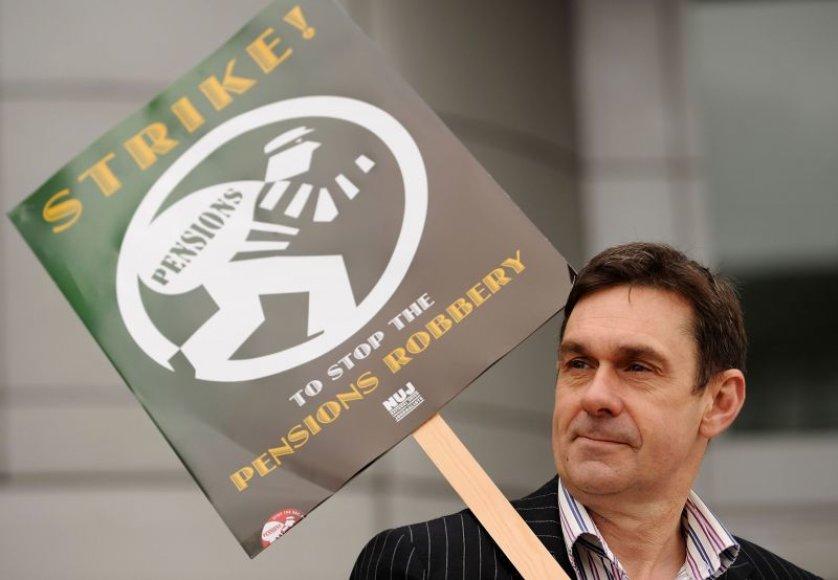 BBC žurnalistų streikas