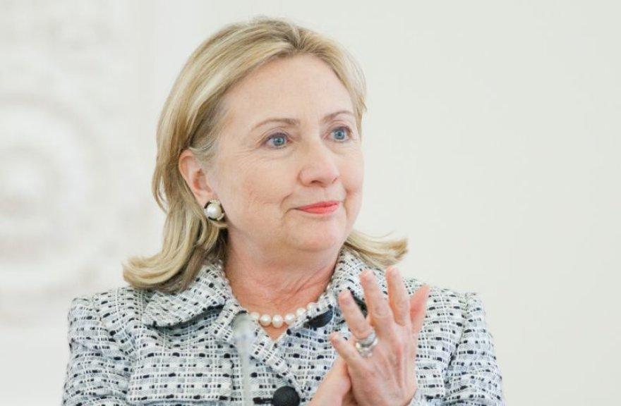 H.Clinton prezidentūroje.