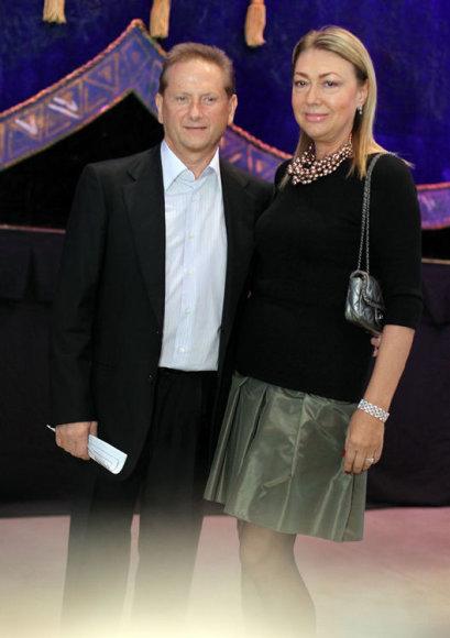 Vladimiras Romanovas su žmona Svetlana