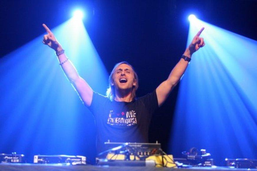 Davido Guettos pasirodymas
