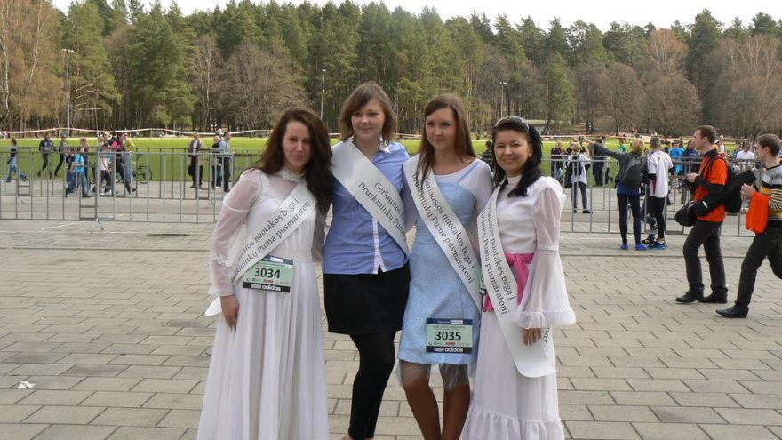 Druskininų eko maratono organizatorių komandos dalis.