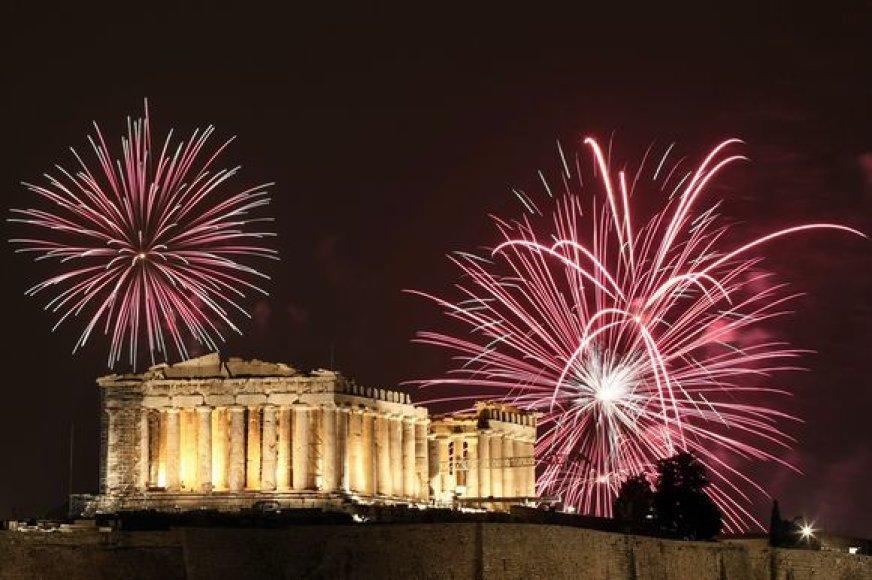 Graikija įžengė į 2009-uosius