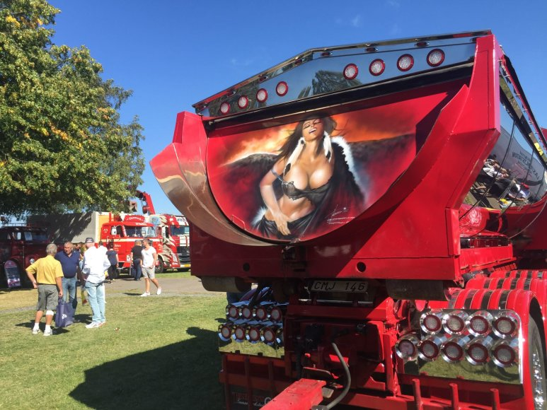 """Trucker.lt nuotr./Sunkvežimių grožio konkursas """"Nordic Trophy"""""""