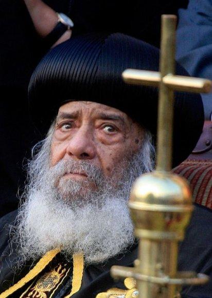 Egipto Koptų Ortodoksų Bažnyčia ruošiasi popiežiaus Šenudos III laidotuvėms