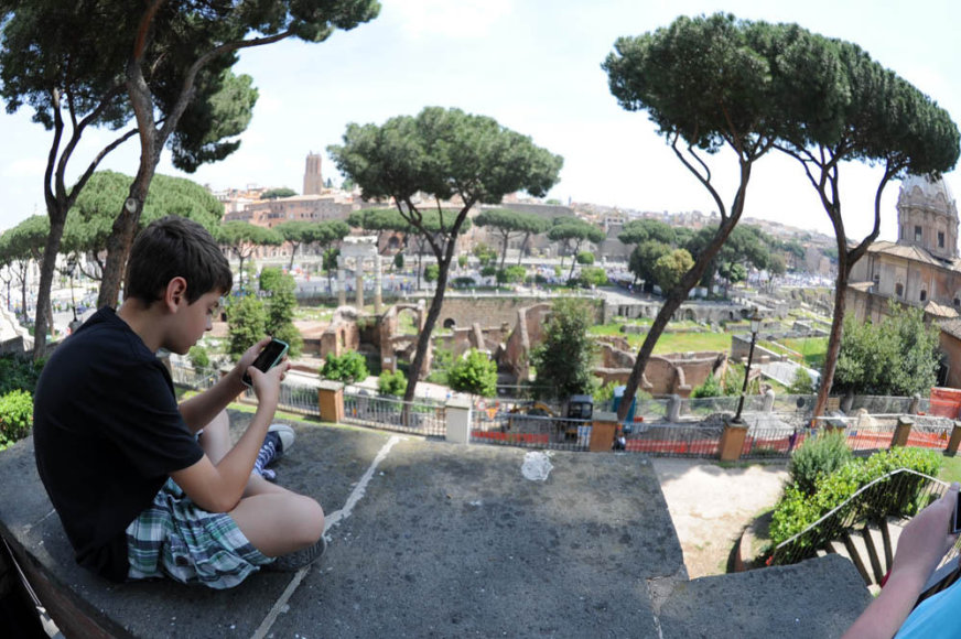 Savaitgalis Romoje: eitynės, protestai ir istorijos dvelksmas