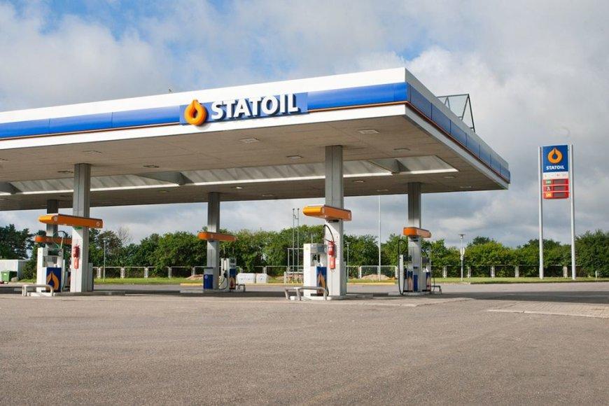 """""""Statoil"""" degalinė ties sankryža į Trakų Vokę"""