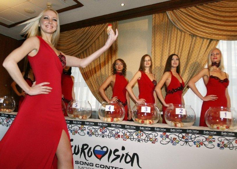 Eurovizijos burtai