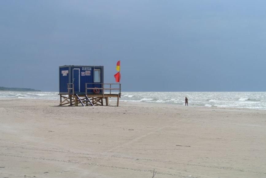 Gelbėjimo stotis paplūdimyje