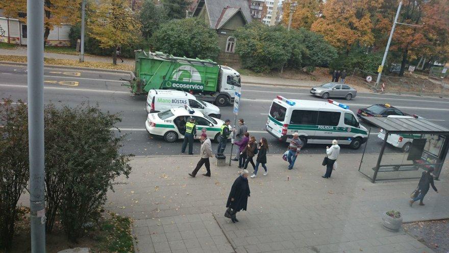 Nelaimė Vilniuje, Kalvarijų gatvėje