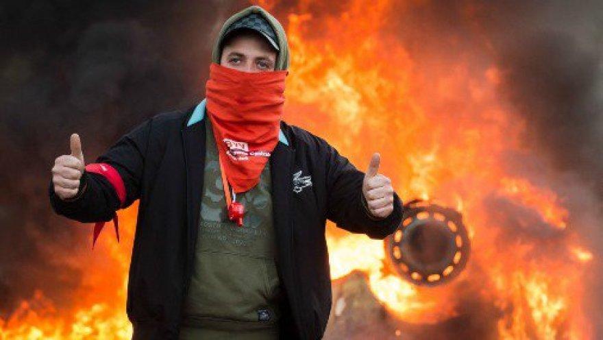 Protestai Briuselyje