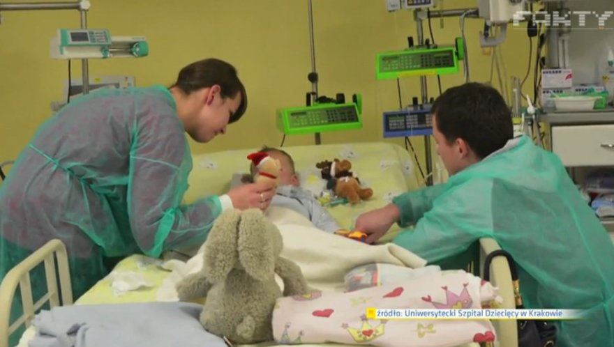 Krokuvos vaikų ligoninėje iš mirusių prikeltas 2,5 metų berniukas