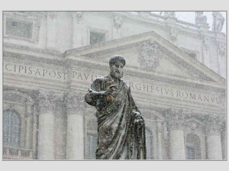 Roma žiemą