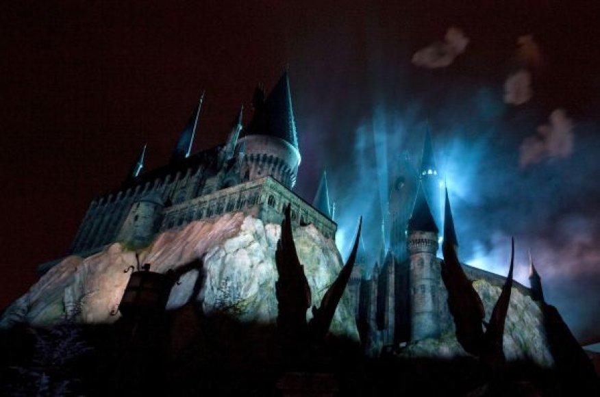 Atidarymo ceremonija, Hogwartso pilis