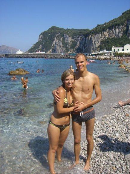 Justina ir Tomas, bikini porelių konkursas