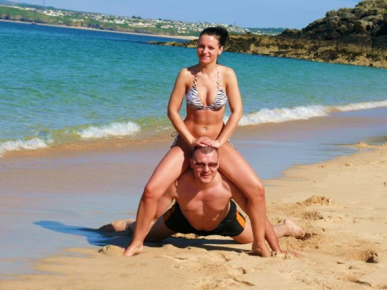 Kristina ir Ramūnas, bikini porelių konkursas