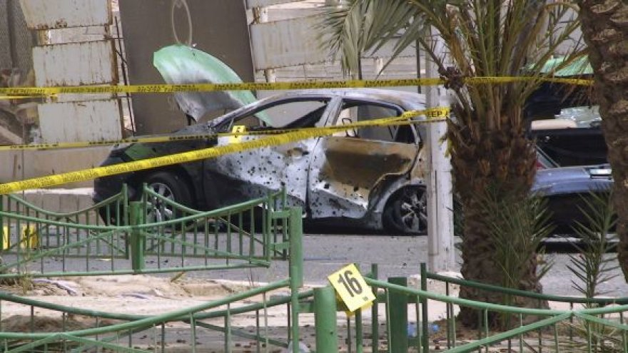 Po sprogimo Akaboje, Jordanijoje