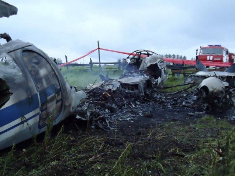 "Sudužo lėktuvas ""An-24"""
