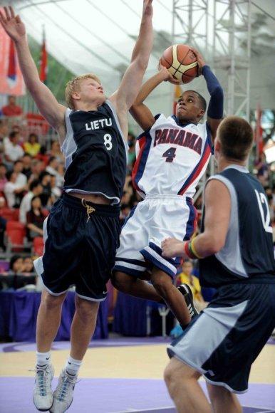 Lietuvos krepšininkai nugalėjo Panamą