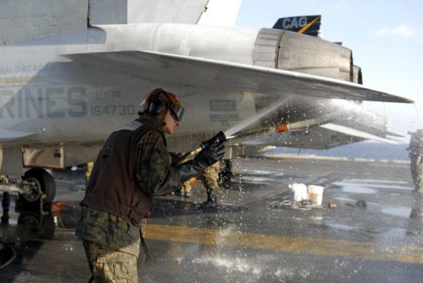 Naikintuvas F/A 18C Hornet