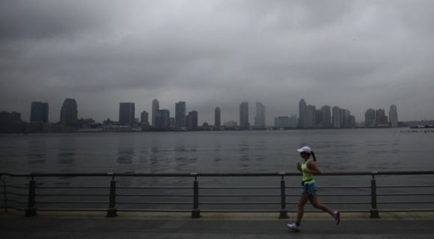 Niujorkas: kelios valandos iki uragano