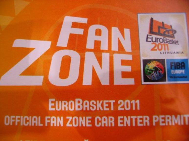 """Eurobasket 2011"" fanų zona Alytuje"