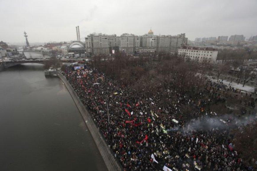 Mitingas Maskvoje, Bolotnaja aikštėje