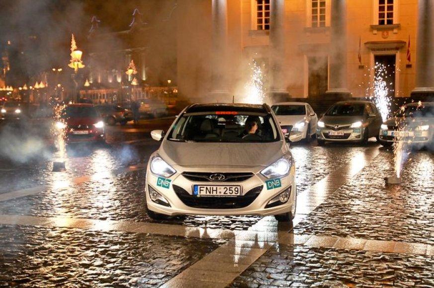 """Konkurso """"Metų automobilis 2012"""" finalas:  """"Hyundai i40"""""""