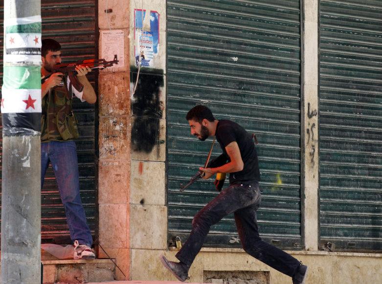 Gatvių kautynės Sirijoje