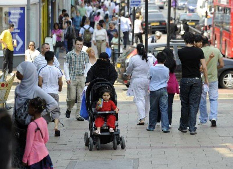 Migrantai Londone