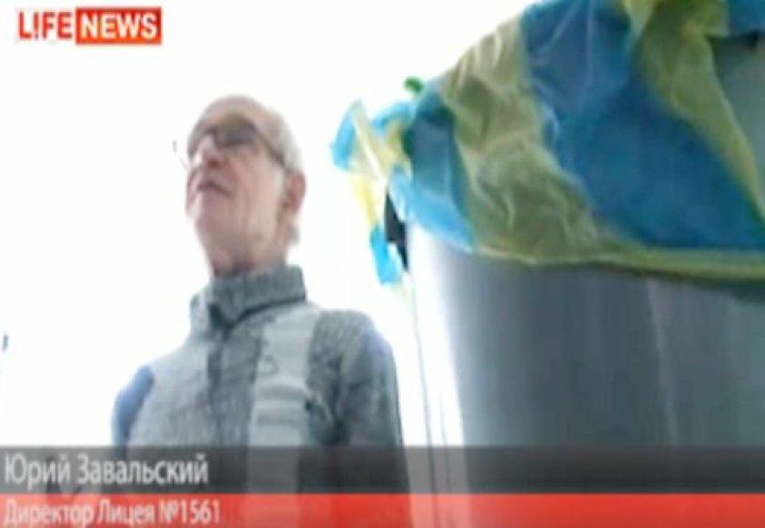 Mokyklos direktorius Jurijus Zavalskis