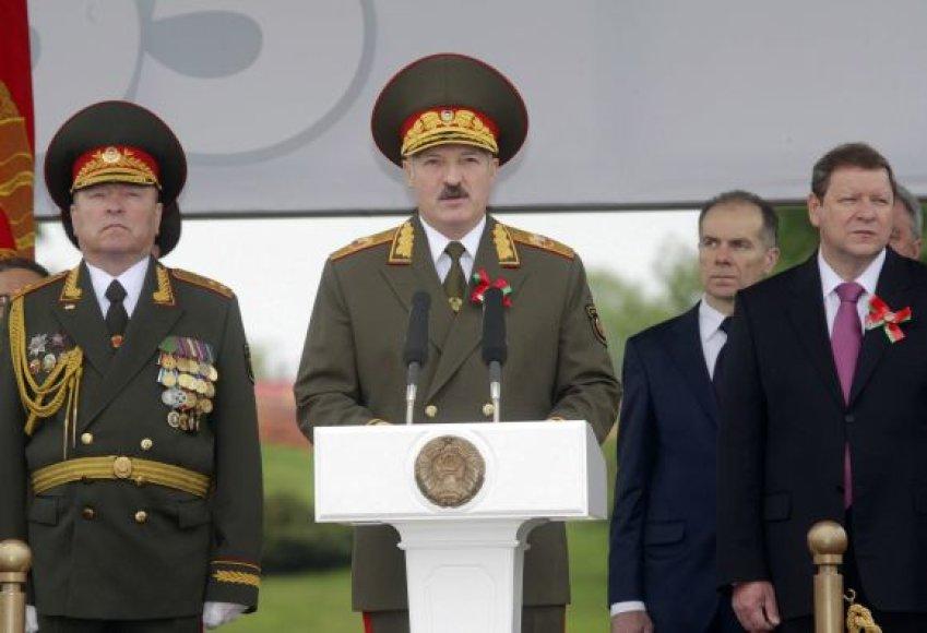 Aleksandro Lukašenkos kalba Pergalės dienos šventėje