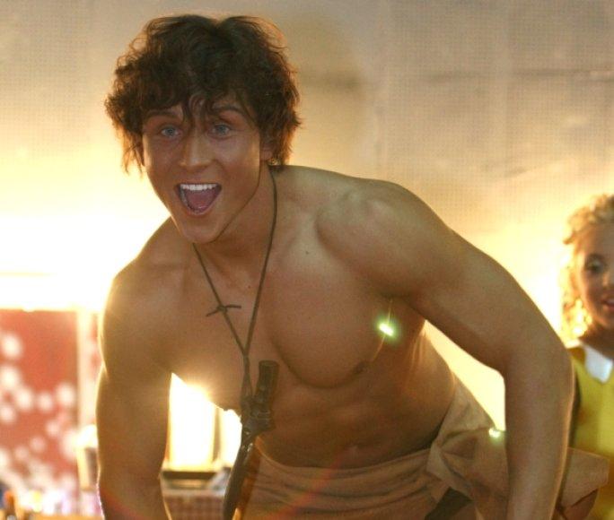 Martynas Malakauskas tapo Tarzanu.