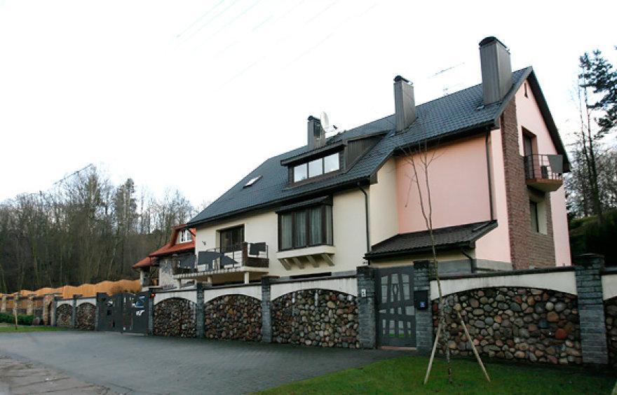 Andriaus Janukonio namas Vilniuje, Filaretų gatvėje