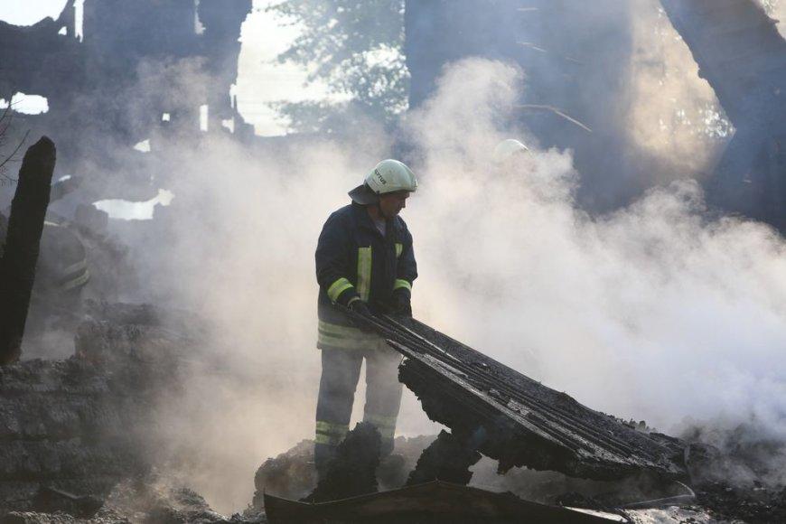 Balbieriškio bažnyčios gaisras
