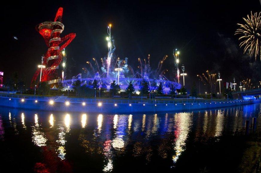 Londono olimpinių žaidynių atidarymo repeticija